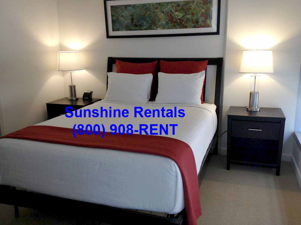 Sunshine Rentals Triple Sheet Bed