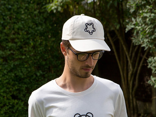 Hand embroidered  cap