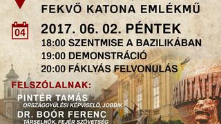 Jún. 2. Trianon Felvonulás Székesfehérváron