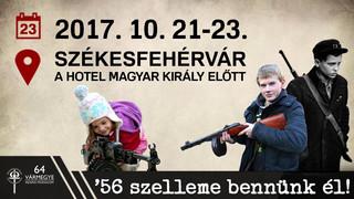 Fehérvár '56 - fegyverkiállítás és programsorozat