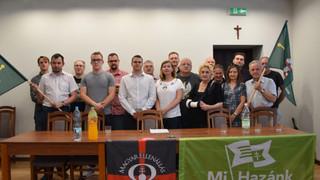 A lengyel-magyar barátságot erősítette a HVIM és a Mi Hazánk Ifjai