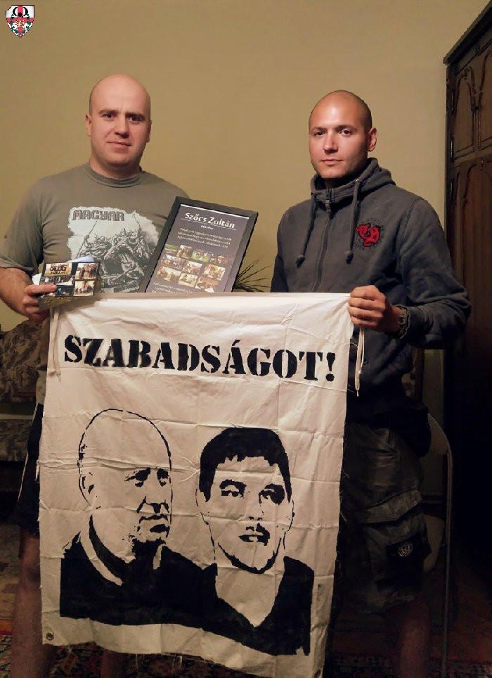 Szőcs Zoltán és Incze Béla Pest megyei vezetőnk