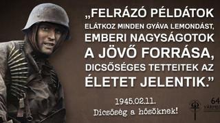 A Becsület Napja és a Kitörés 60 üzenete: jogunk van a hőseinkre megemlékezni!
