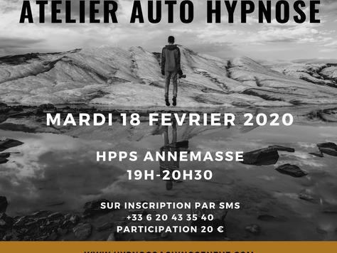 Atelier Auto Hypnose de Février