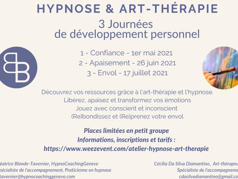 Ateliers Hypnose & Art-Thérapie