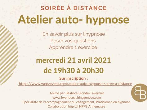 Soirée Auto-Hypnose à distance