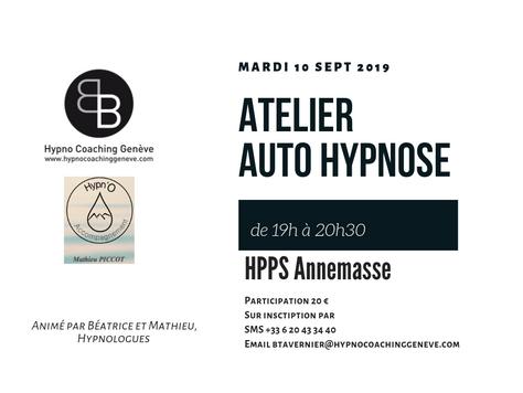 ATELIER AUTO HYPNOSE