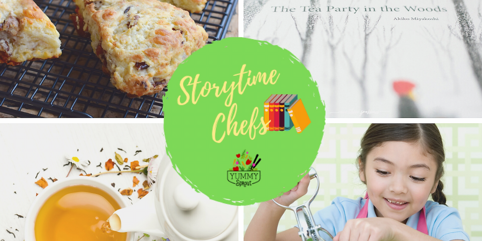 Storytime Chefs: Mini Sprout Tea Party (ages 2-6)