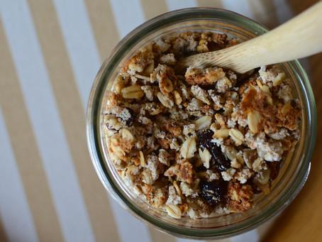 Oatmeal Raisin Almond Pulp Granola