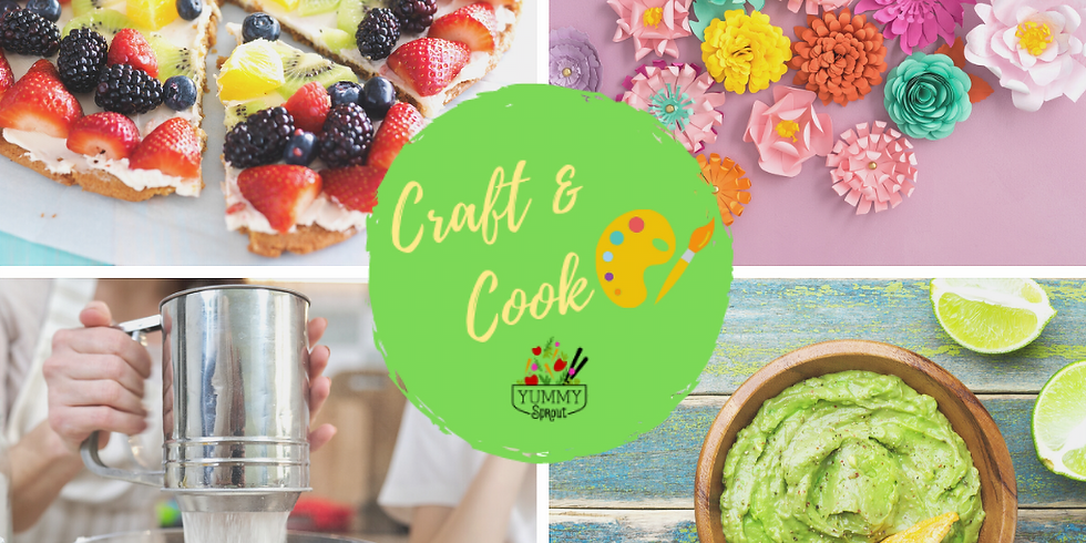 Craft & Cook: Sprouting Chefs Spring Fun (ages 6-12)