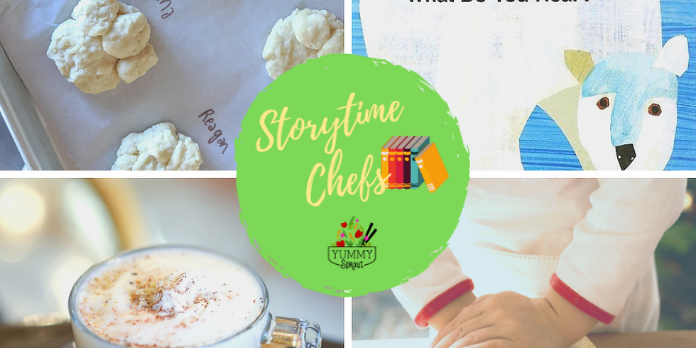 Storytime Chefs: Polar Bear Party (ages 2-6)