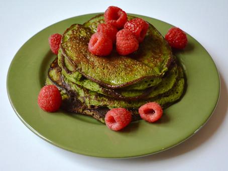 Groovy Green Pancakes