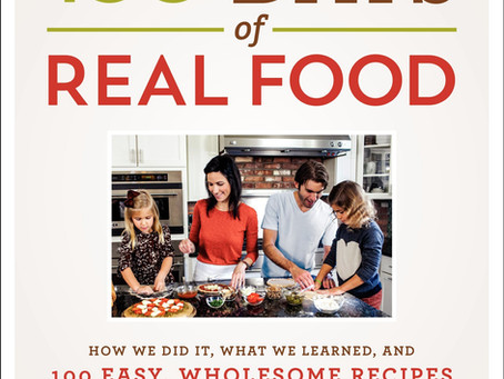 100 Days of Real Food Cookbook - {{RECIPE}} (Giveaway Completed)