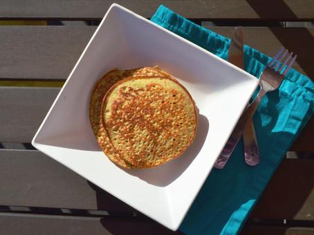 Monkey Oat Pancakes
