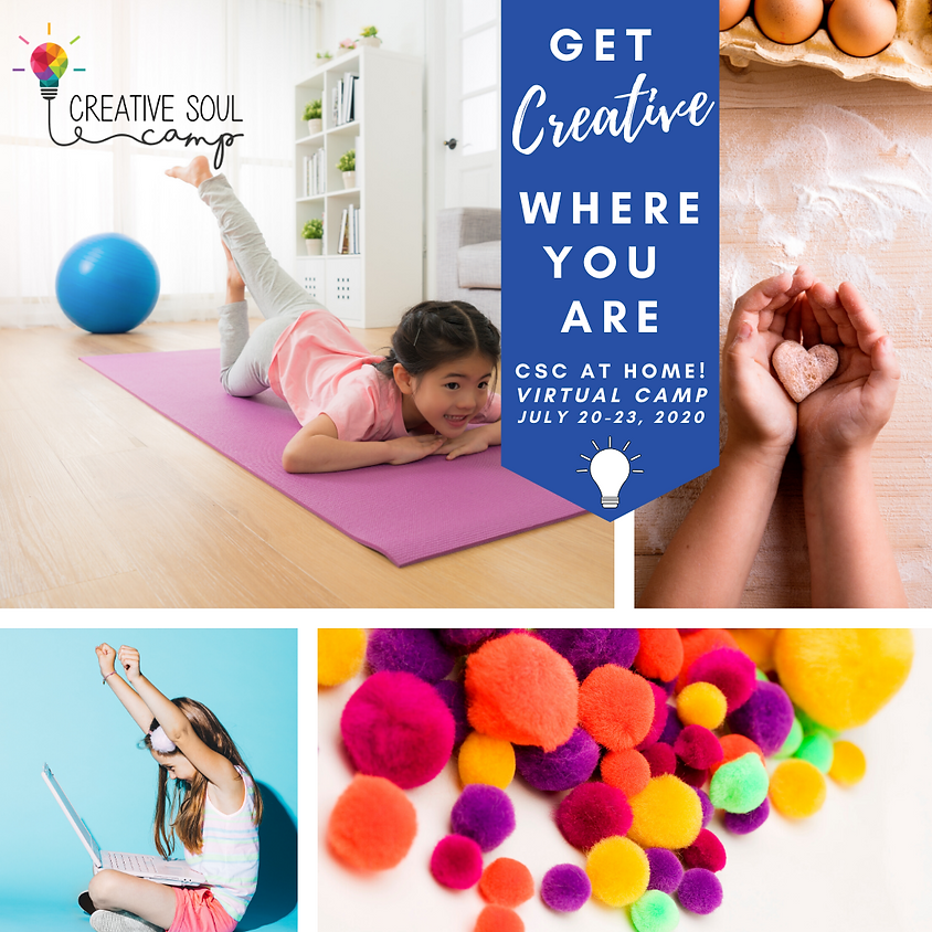 CSC At Home: A Virtual Camp - JULY 20-23 (ages 6-14)