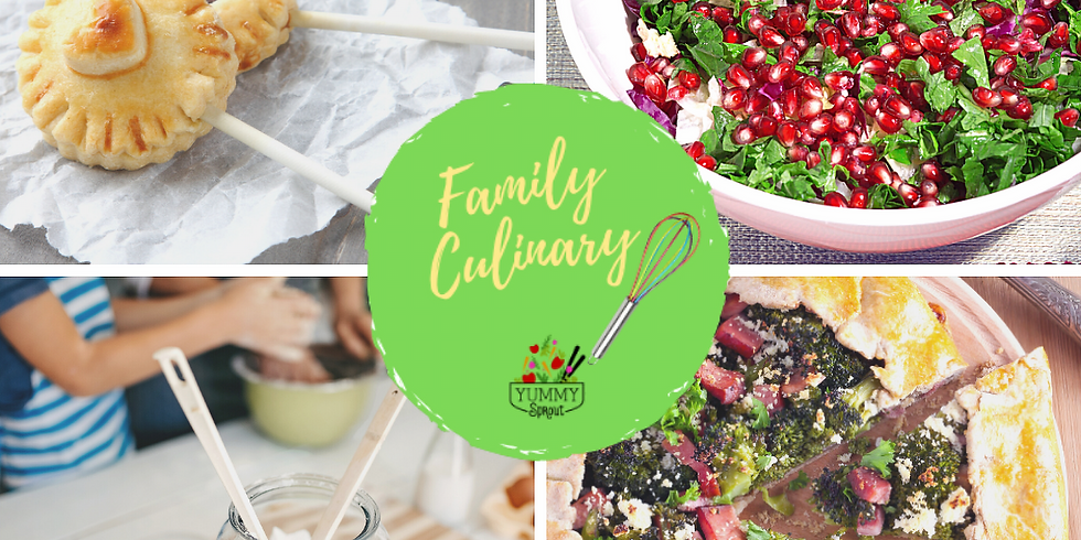 Virtual Family Culinary Class: Cooking with Love