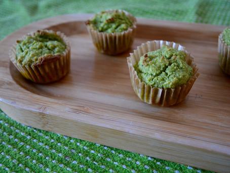 Banana Spinach Muffins