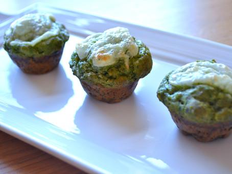 Savory Spinach Muffins