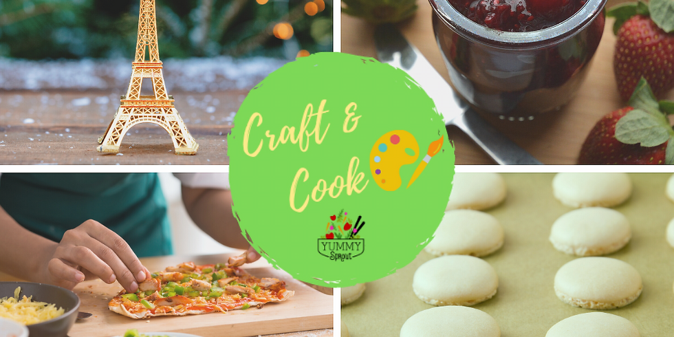 Craft & Cook: Christmas in Paris (ages 5-12)