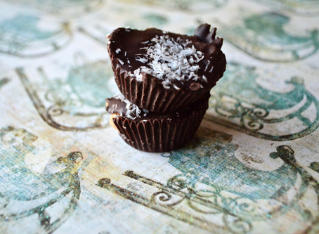 Coconut Peanut Butter or Sunflower Butter Cups