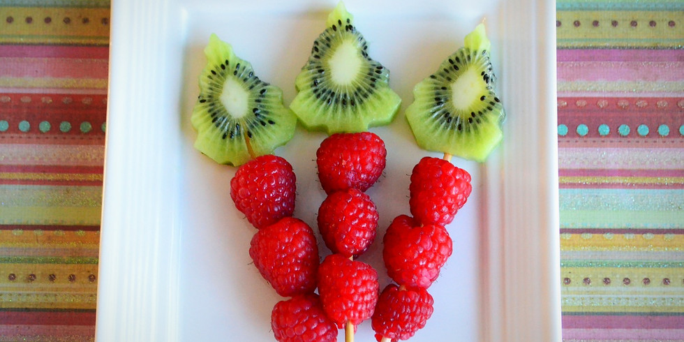 Festive Fruit: Mini Sprouts Culinary Class (ages 2-6)