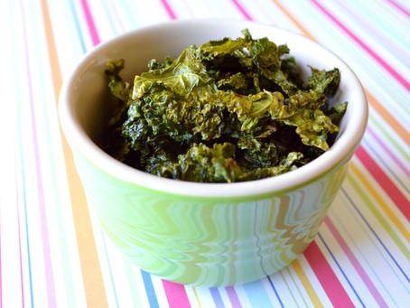 Sweet & Salty Kale Chips