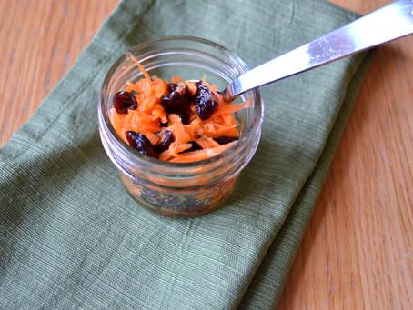 Carrot Cranberry Salad