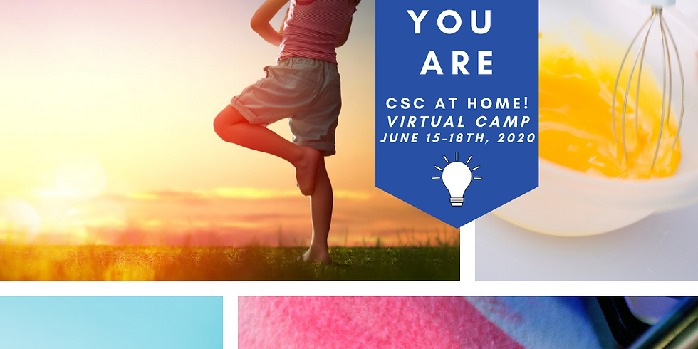 Creative Soul Camp at Home: Virtual Camp (ages 6-14)