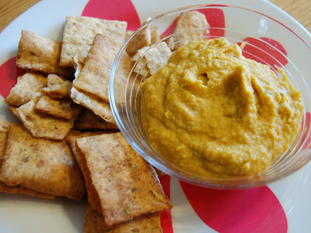 Pumpkin White Bean Hummus