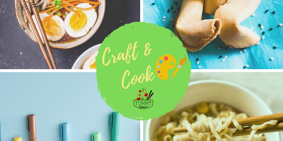 Craft & Cook: Ridiculous Ramen (ages 5-12)