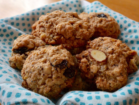 Chia Oatmeal Cookies (+Free Printable Meal Planner)
