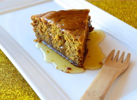 Pumpkin Honey Cake {GF}