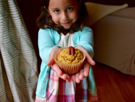 Pecan Pumpkin Muffins {GF}