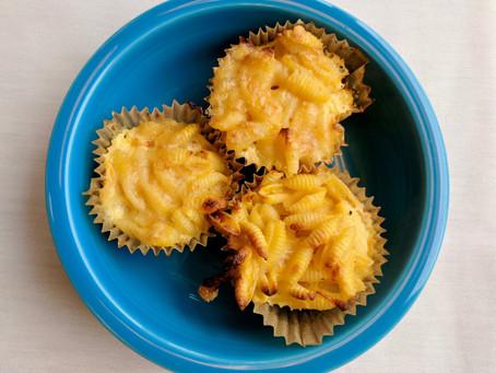 Sweet Potato Mac Muffins