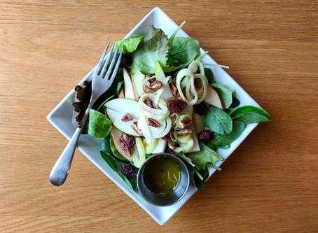 Pear, Leek & Pecan Salad - **GIVEAWAY** - closed