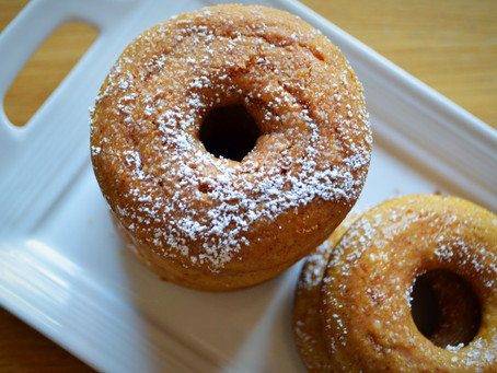 Oatmeal Chia Donuts