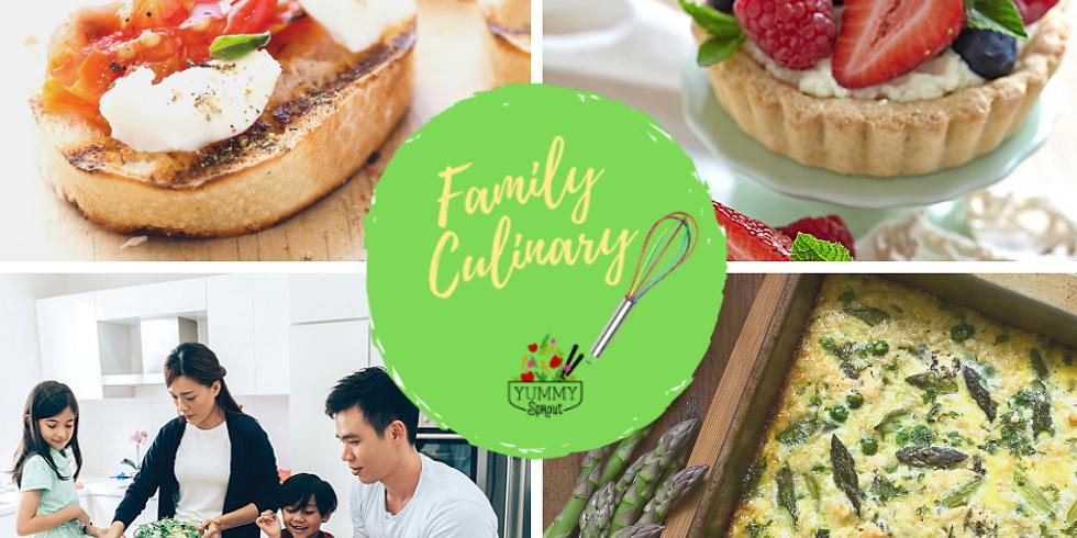 Virtual Family Culinary Class: Sunday Brunch