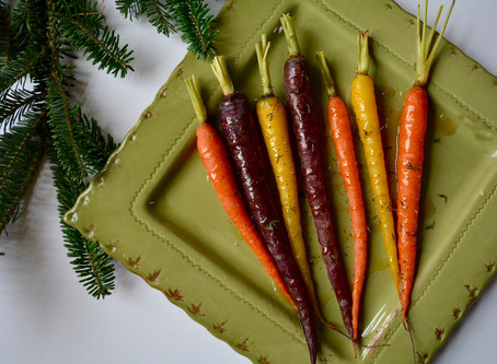 Maple Butter Roasted Carrots
