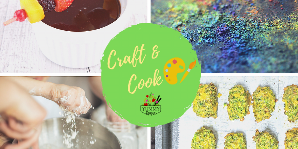 Craft & Cook Camp: Sprouting Chefs Rainbow (ages 6-12)