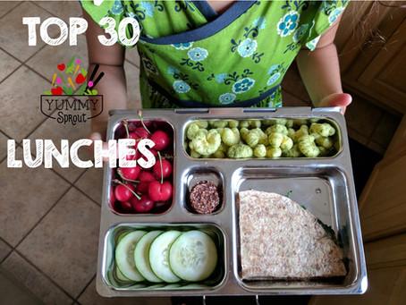Lunchbox Idea Mega Roundup!