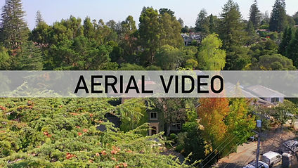 Aerial drone video for real estate properties
