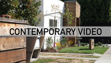 Contemporary style video for real estate properties