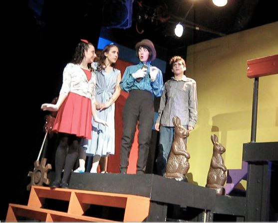 Photo of Lori Joachim Fredrics as Willy Wonka