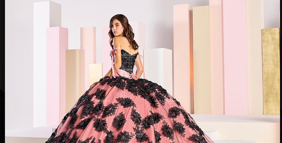 3-D Floral Beaded Dress