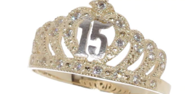 14 K Court Quince Ring