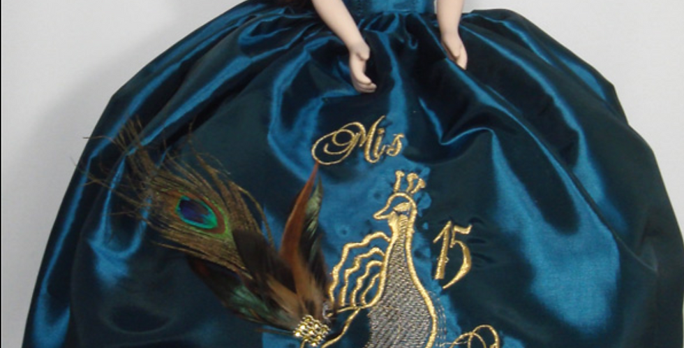 Peacock Doll