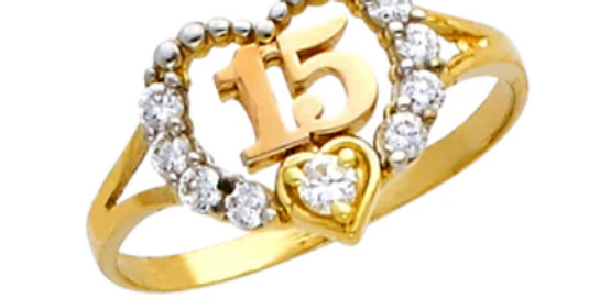 14 K <3 Quince Ring