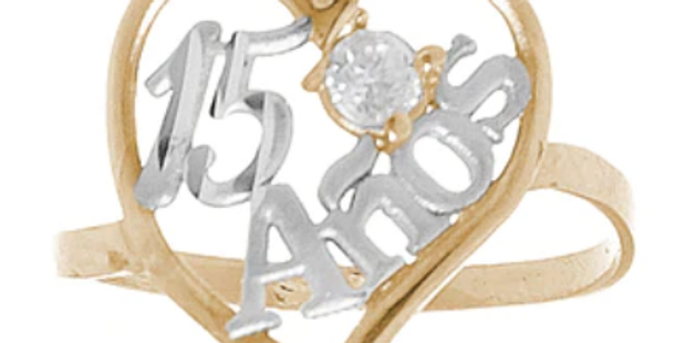 14 K XV Quince Ring