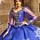 Thumbnail: Long Peep Sleeved Princesa