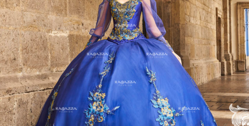 Long Peep Sleeved Princesa